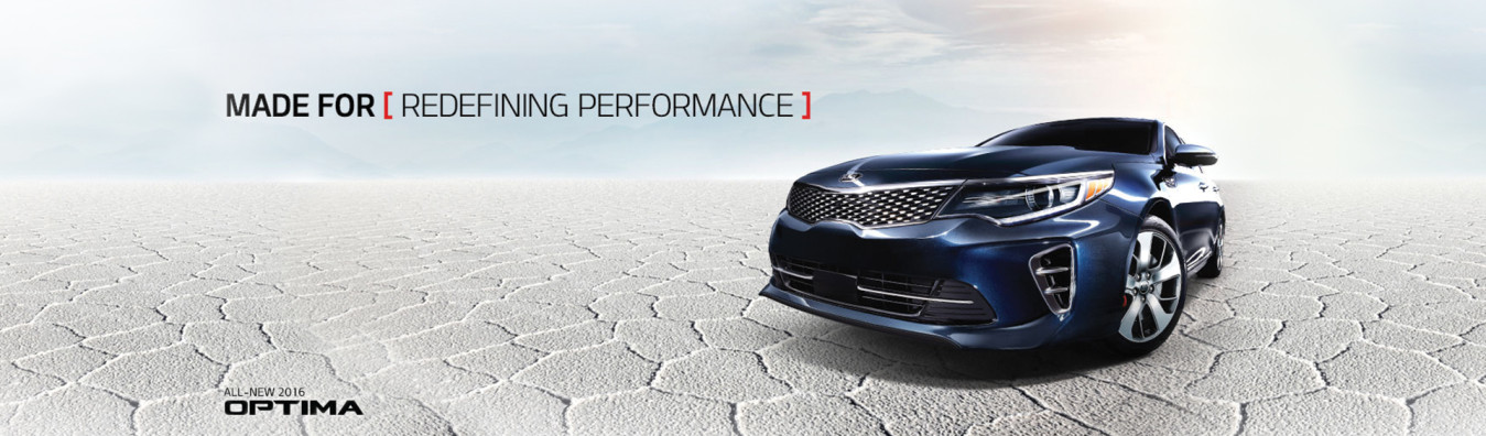 made for Redefining Performance: All New 2016 Optima