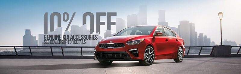 10% Off Genuine Kia Accessories