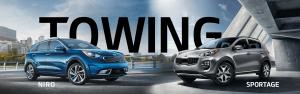 2019 Kia Niro and 2020 Kia Sportage